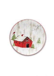 Christmas tableware plate