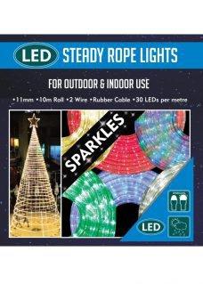 sparkling rope lights