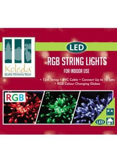 RGB Colour Changing Fairy Lights